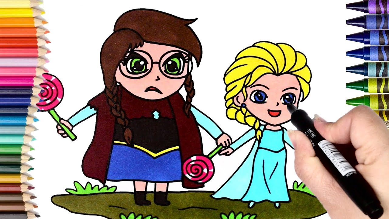 Coloring Pages Elsa From Frozen : How to draw elsa from frozen coloring pages elsa frozen for