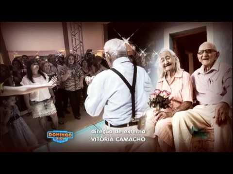 Seu Zeca, aos 100 anos, dança forró ao lado de sua esposa