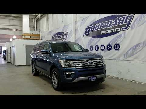 2018 Ford Expedition Max Limited W/ Leather, Sunroof, 7 Pass Overview | Boundary Ford