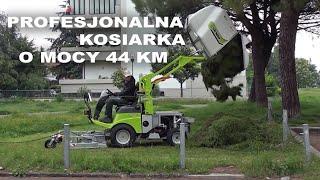 GRILLO FD 2200 4WD - profesjonalna kosiarka o mocy 44 KM z wysokim wyładunkiem