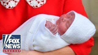 royal baby named prince louis arthur charles