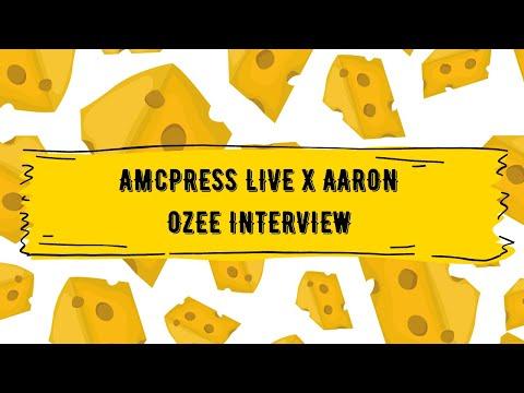 Aaron Ozee - December 5th AMCPress Live Interview