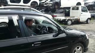 Видео-тест автомобиля Mazda Demio (черный, 2002г., DW5W-503796)