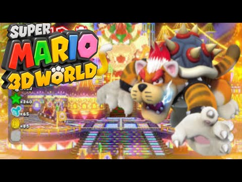 Super Mario 3D World - Gameplay #29 (The Great Tower Of Bowser)