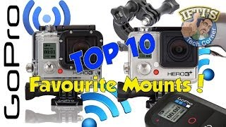 GoPro : My Top 10 Favourite Mounts!