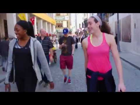 Nneka Ogwumike and Breanna Stewart: Off Day in Istanbul