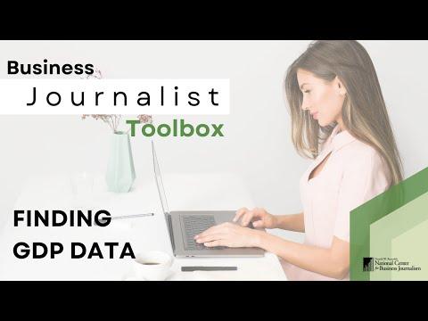 Finding GDP Data on the Bureau of Economic Analysis Website