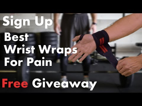 Wrist wrap for pain Giveaway! WinWristWraps.info