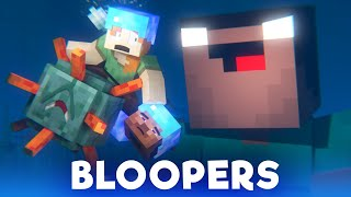 Ocean Monument: BLOOPERS - Alex and Steve Life (Minecraft Animation)