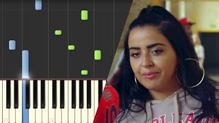 Marwa Loud - Bad Boy | Piano Tutorial