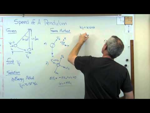 Pendulum Velocity