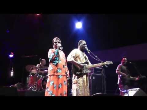 Amadou & Mariam - Dimanche à Bamako -Root's ergue 2013
