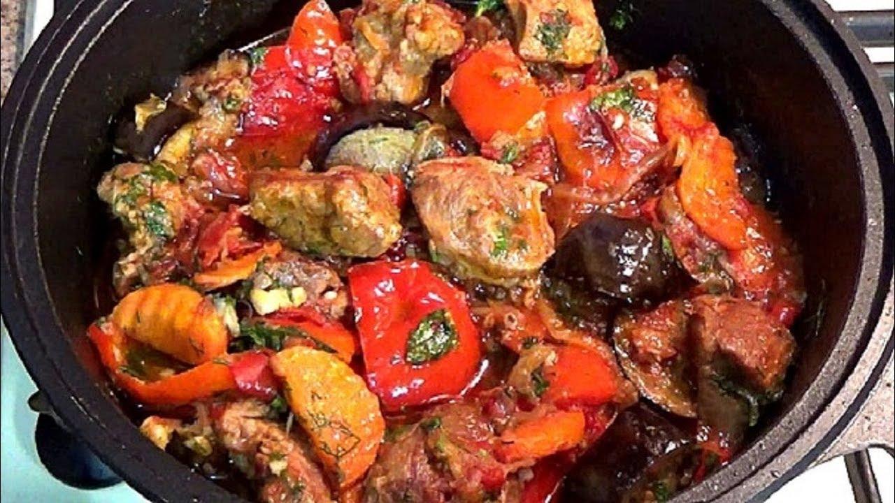 Тушеное мясо с овощами его всегда мало