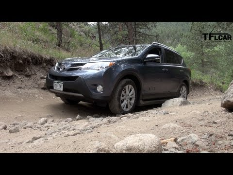 2013 Toyota RAV4 AWD Off-Road Drive and Review
