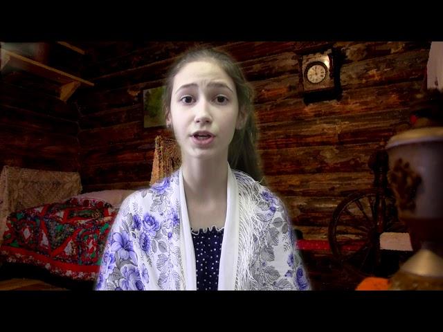Изображение предпросмотра прочтения – МарияКорнилова читает произведение «Колобок» (Русский фольклор )