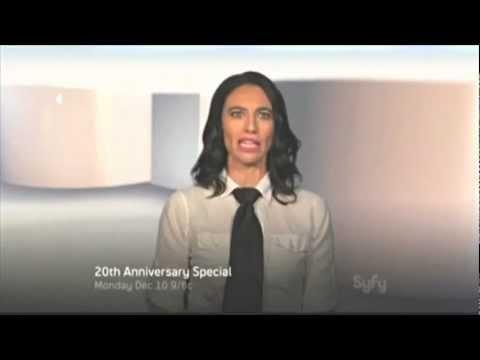 Claudia Black in SyFy 20th promo 2012 TV