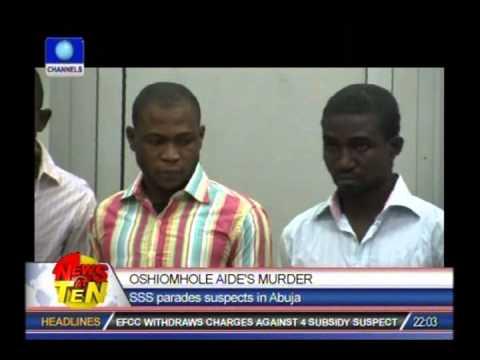 SSS Parades Alleged Killers Of Oshiomhole's Secretary