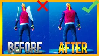 HOW TO FIX THE BACK BLING GLITCH in SEASON 5 FORTNITE! (REMOVE Back Bling Glitch in Fortnite)