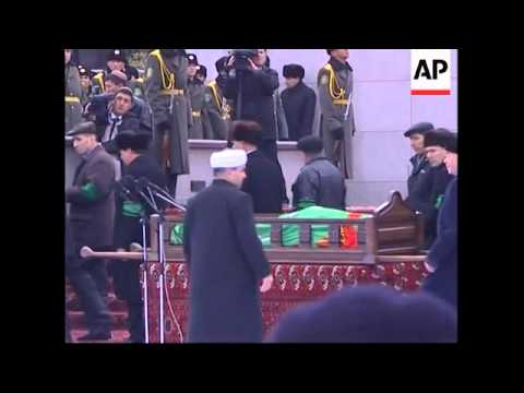 AP coverage of the late president's funeral