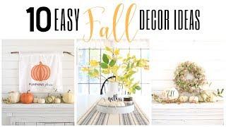 Fall DIY Decor 2019 ~ Dollar General Fall DIY ~ Fall Dollar Store Decor ~ Fall Decorating Ideas
