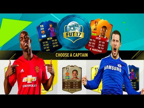 FIFA 17 FUT DRAFT - EDEN HAZARD si PAUL POGBA UMILITI