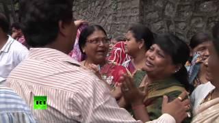 Обрушение здания в Мумбаи: десятки людей находятся под завалами