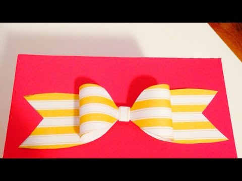Make a Cute and Simple Paper Bow - DIY Crafts - Guidecentral