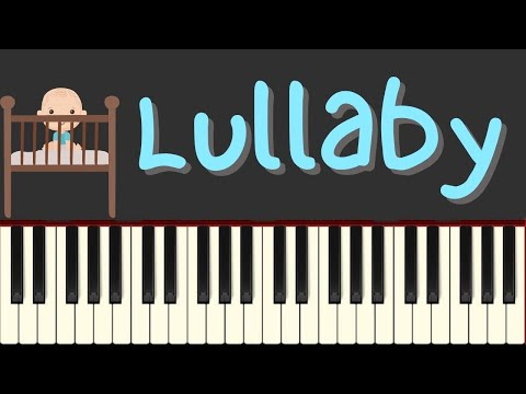 Easy Piano Tutorial: Lullaby by Brahms with free sheet music