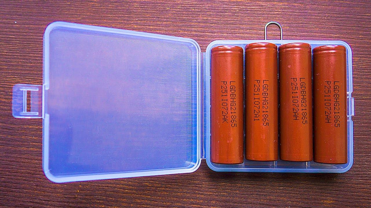 Аккумулятор высокомощный li-ion незащищенный 18650 lg iсr18650hg2 3,7в. Литиевый аккумулятор lg hg2 18650 3000мач 35а (шоколадка).