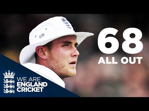 New Zealand Bowled Out For 68 at Lord's: England v NZ 1st Test 2013 - Full Highlights