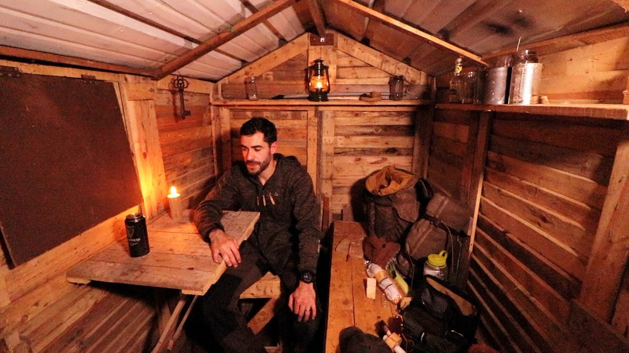 Escape to the Forest: Solo Overnight in the Tiny Cabin