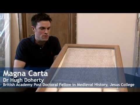 Treasures of the Bodleian: Magna Carta