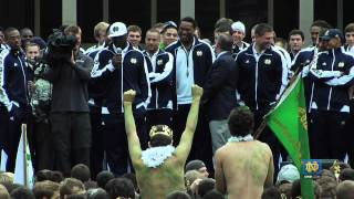 Michigan Pep Rally - Notre Dame Football