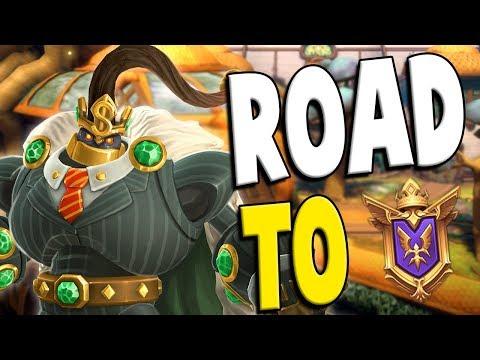 Ranked Bomb King: Road to GM #73 | Paladins Gameplay