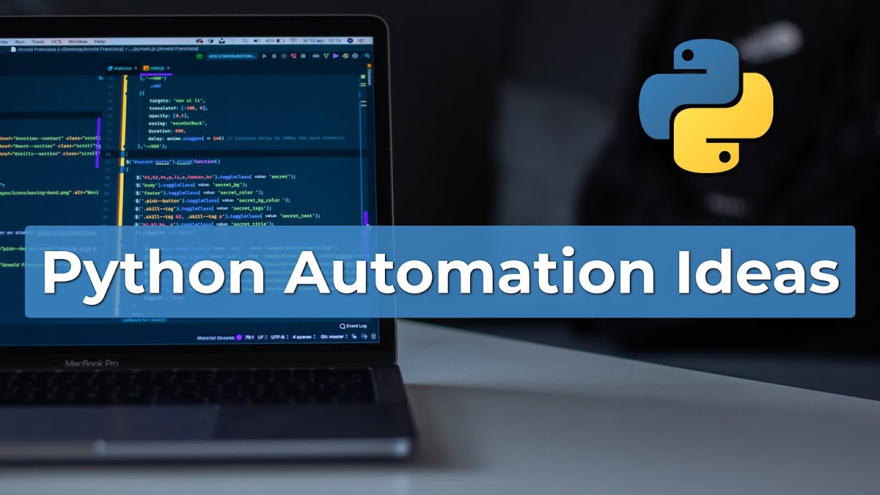 Awesome Python Automation Ideas