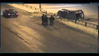 ДТП с камеры видеонаблюдения в Нижневартовске ebrigada.ru(, 2012-03-21T12:35:04.000Z)
