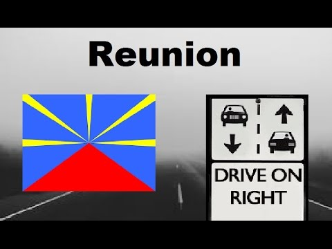 Which Side Of the Road To Drive On (All Countries/Territories)