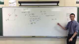 Finding Unknown Angle with Trigonometry: Example 1