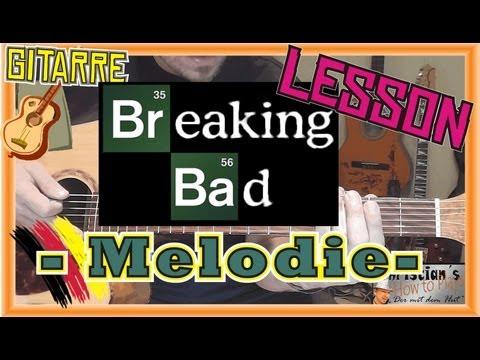 How to Play Breaking Bad TITEL MELODIE Tabs Akkorde Akustik Slide Gitarre Tutorial [HD] Deutsch