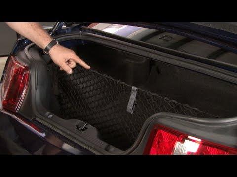 Mustang Ford Trunk Storage Cargo Net 2005 2017 Installation
