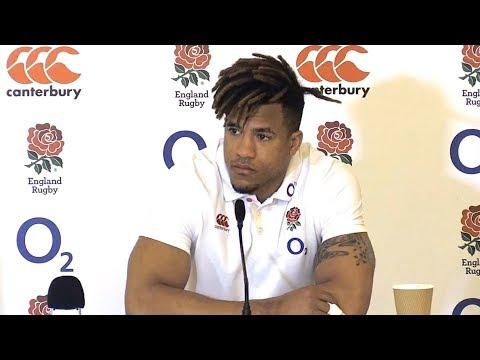Anthony Watson Pre-Match Press Conference - England v Ireland - Six Nations