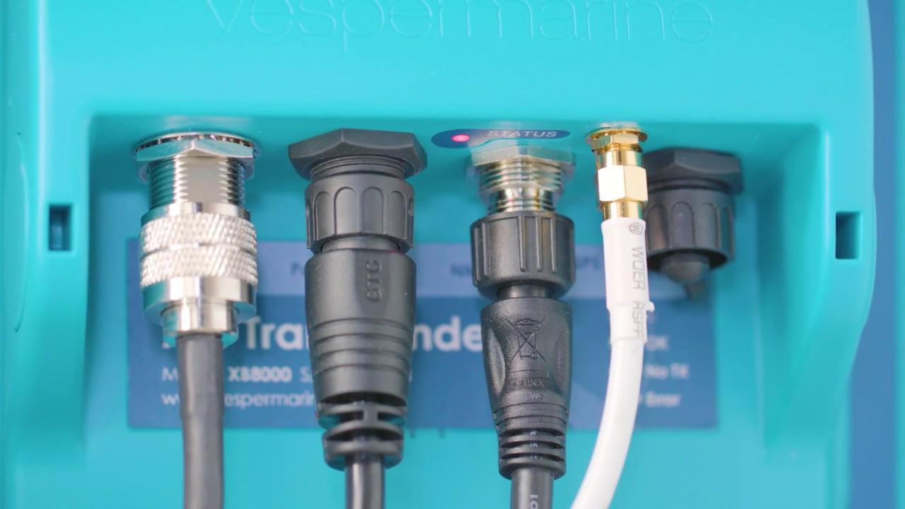 How to install your Vesper Marine AIS transponder