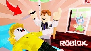 WE ESCAPED FROM THE DENTIST ANGRY KILLER!! OBBY PARKOUR ROBLOX 💙💚💛 BE BE BE BE BE BE BE BE BE BE BE A MILO VITA AND ADRI 😍 AMIWITOS