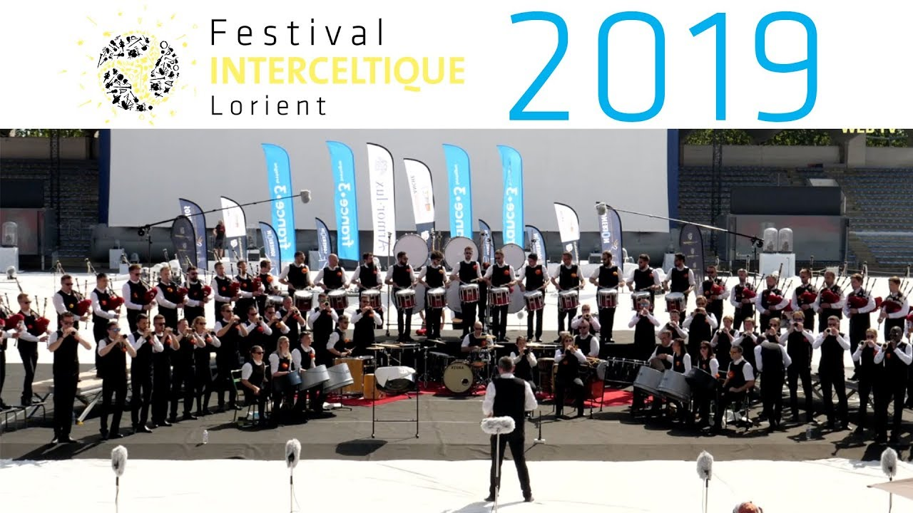 Championnat National des Bagadoù 2019 - Festival Interceltique de Lorient 2019