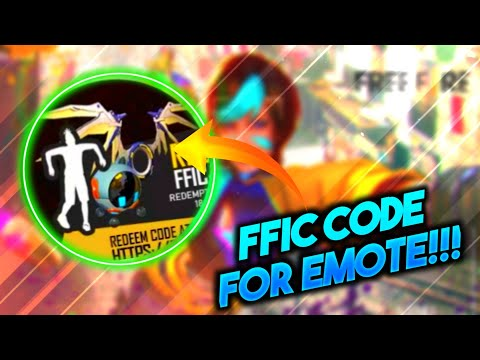 FFIC Code For  Free Emote, Backpack , Pet - Gamers Zone