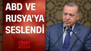 Cumhurbaşkanı Erdoğan: Karşımıza çıkarlarsa tepeleriz