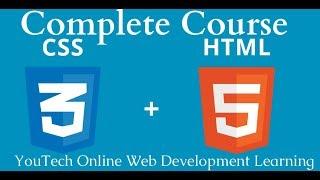 HTML5 Semantic Tags - Web Development Tutorial Lecture 8