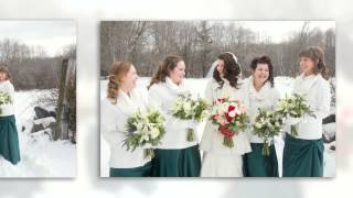 Winter Wedding : Salem Cross Inn in West Brookfield MA : Shy