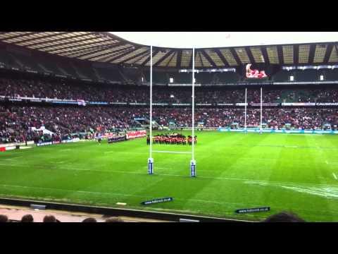 Army Navy Rugby 2012 National Anthem - Twickenham
