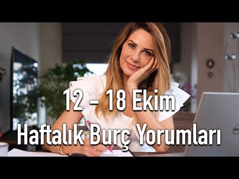 12 - 18 Ekim Haftalık Burç Yorumları - Hayat Enerjimiz Bizi Zorlayacak -Hande Kazanova ile Astroloji